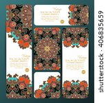 collection of colorful banners... | Shutterstock .eps vector #406835659