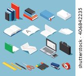 Isometric Office Tools  ...