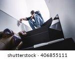 sex addiction | Shutterstock . vector #406855111