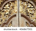 Wood Carving Gold