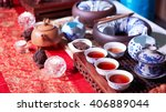 chinese tea ceremony | Shutterstock . vector #406889044