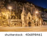 Facade Of The Cave Church With...