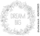 """dream big"" adult coloring book ... 