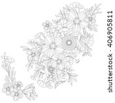 Adult Coloring Book Floral...