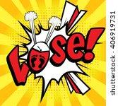 "pop art comics icon ""lose "".... | Shutterstock .eps vector #406919731"