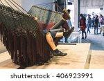 milan  italy   april 16  couple ...   Shutterstock . vector #406923991