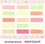vector collection of retro... | Shutterstock .eps vector #406932649