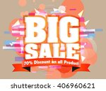 sale abstract with background... | Shutterstock .eps vector #406960621