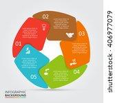 vector circle element for... | Shutterstock .eps vector #406977079