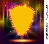 shining background with retro... | Shutterstock .eps vector #406980655