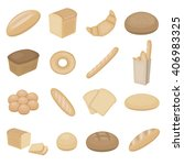 bread icons set. bread icons...
