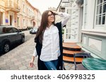 woman | Shutterstock . vector #406998325