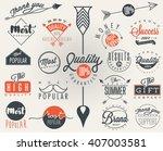 premium quality  most popular... | Shutterstock .eps vector #407003581