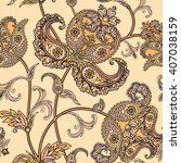 floral pattern flourish tiled...
