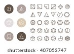 collection of thin 30 icons 6... | Shutterstock .eps vector #407053747