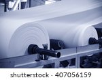 paper and pulp mill   | Shutterstock . vector #407056159