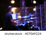 musical instruments on a stage | Shutterstock . vector #407069224
