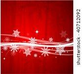 beautiful christmas background   Shutterstock .eps vector #40712092