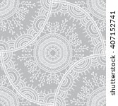 vector nature seamless pattern... | Shutterstock .eps vector #407152741