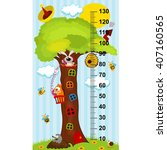 Tree House Height Measure  In...