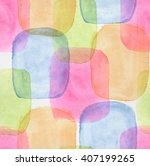 watercolor seamless pattern... | Shutterstock . vector #407199265