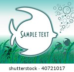 sea background   Shutterstock .eps vector #40721017