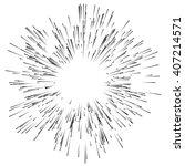 abstract explosion  burst... | Shutterstock .eps vector #407214571
