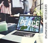 Small photo of Peace Calm Free Nonviolence Privacy Solitude Zen Concept