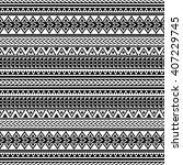 tribal aztec print template for ... | Shutterstock .eps vector #407229745
