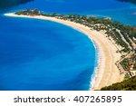 Blue Lagoon In Turkey. Oludeni...