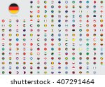 World Flag Illustrations In Th...