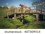 Picturesque Bridge And Brook I...