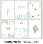 collection of universal trendy... | Shutterstock .eps vector #407313454