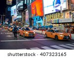 new york  usa   circa march ... | Shutterstock . vector #407323165
