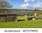 Hayracks  Kozolec And Old Farm...