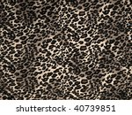 leopard print background | Shutterstock . vector #40739851