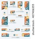 big sale concept multicolored... | Shutterstock .eps vector #407406355