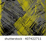 grunge texture background  ... | Shutterstock .eps vector #407422711