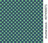 green and blue tennis ball...   Shutterstock . vector #407450071