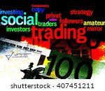 Social Trading   A Word Cloud...