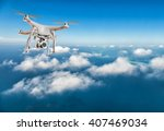 drone for industrial works... | Shutterstock . vector #407469034