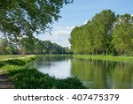 water channel italy | Shutterstock . vector #407475379