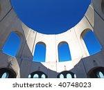 top sky of coit tower | Shutterstock . vector #40748023