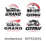 Sport Cars Logo Set...