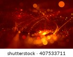 abstract background red bokeh... | Shutterstock . vector #407533711