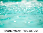 bokeh light background in the... | Shutterstock . vector #407533951