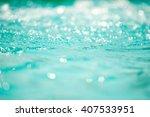 bokeh light background in the... | Shutterstock . vector #407533951