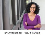 portrait of professional black... | Shutterstock . vector #407546485