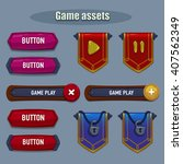 game assets   vector objects