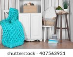 home interior background | Shutterstock . vector #407563921